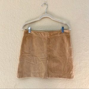 NWT Banana Republic Beige Corduroy Skirt